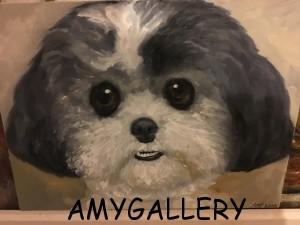 Amy Mattey portrait puch
